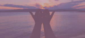Hands at Sunset